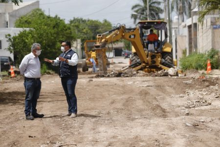 El mejoramiento de calles no se parará pese a dificultades financieras: Renán Barrera