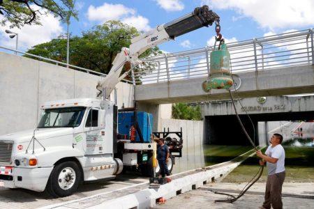En agosto reabren al tránsito el paso a desnivel de la Prolongación de Montejo