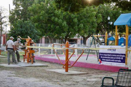 Vuelven a 'clausurar' áreas infantiles y de ejercicios en parques meridanos