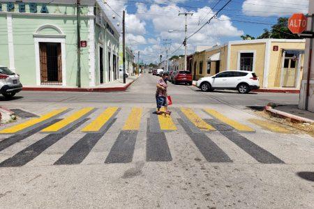Mérida cuenta ya con pasos peatonales en tercera dimensión