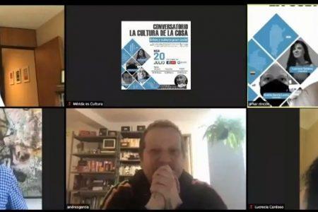 Intercambian ideas para salir del Covid-19, en Conversatorio Internacional 'La cultura de la cosa'