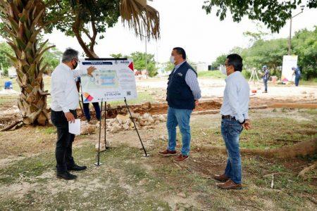 Meridanos participan en la rehabilitación de espacios públicos