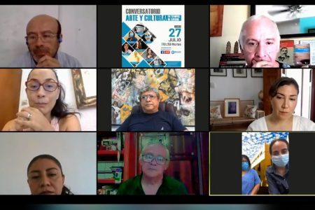 Conversatorio entre comunidad científica y artística de Mérida
