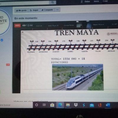 Resolutivo del impacto ambiental del Tren Maya, para el 18 de septiembre
