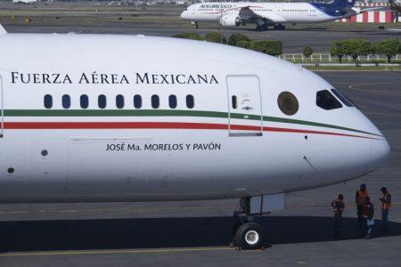 Ya está de regreso el avión presidencial; ya partió de California rumbo a México