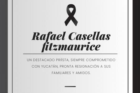 Obituario: Rafael Casellas Fitzmaurice