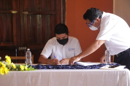 'Blindan' contra las adversidades a empleados municipales de Tekax