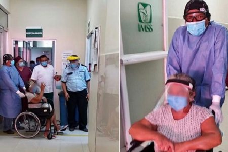 Tras 18 días de lucha, vecina de Dzilam González vence el Covid-19 en el hospital del IMSS en Motul