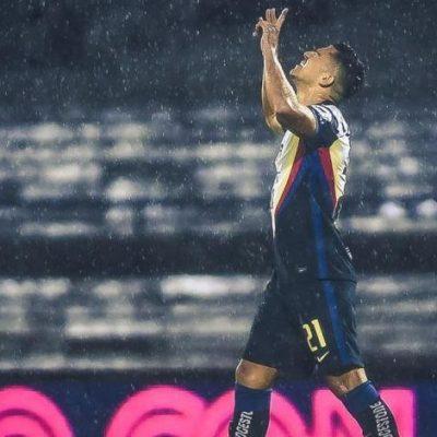 El yucateco Henry Martín anota el primer gol en tiempos del Covid-19
