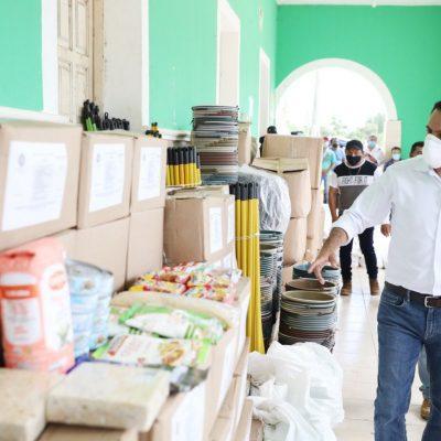 Mauricio Vila reactiva las siembras de pequeños productores de Yucatán