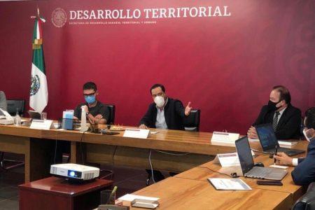 Mauricio Vila pide a Sedatu que el Fonden llegue a más familias damnificadas