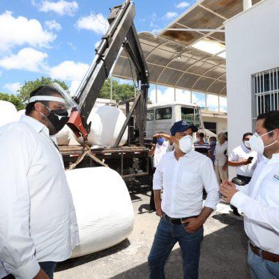 Los productores yucatecos no están solos, ni con el Covid-19 ni con los ciclones