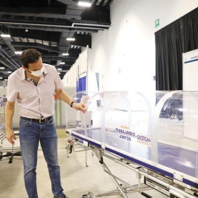 El lunes abren hospital del Siglo XXI: recibirá pacientes de Covid-19 que envíen otros hospitales
