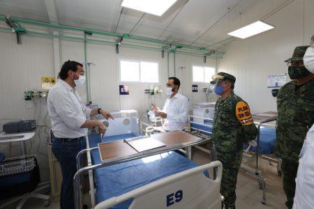 El Hospital provisional de Valladolid ya recibió a sus primeros pacientes