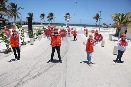 'Amigos de la Salud' recorren Yucatán para fomentar hábitos contra el Covid-19