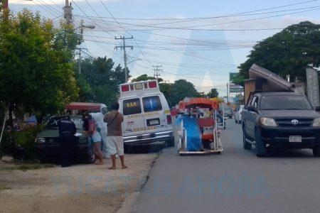 Muere en un mototaxi: iba a un consultorio al presentar dificultad para respirar