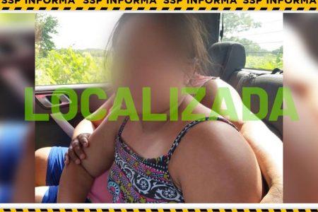 Localizan en un ejido de Champotón a la niña de 11 años desaparecida en Maní