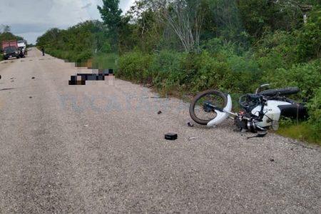 Choque de motos: un adolescente muerto y otros tres lesionados