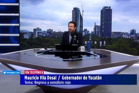 Descarta Mauricio Vila un retorno al semáforo rojo en Yucatán
