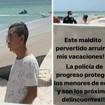 Adolescente detenido por 'acechar' a una mujer que se bañaba