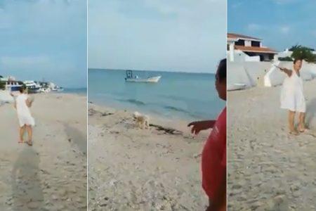 Mujer que cortó sogas de lanchas en Chicxulub Puerto tuvo que pagar los daños