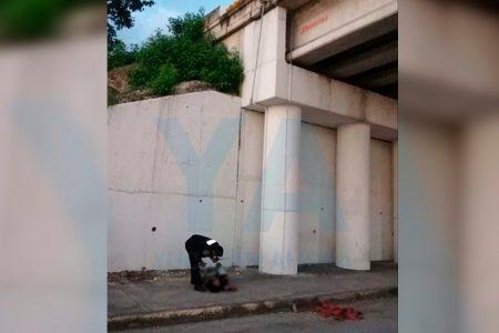 Hombre se arroja del puente de Caucel, en el Periférico meridano