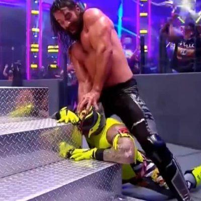 El luchador mexicano Rey Mysterio casi pierde el ojo en un combate de la WWE
