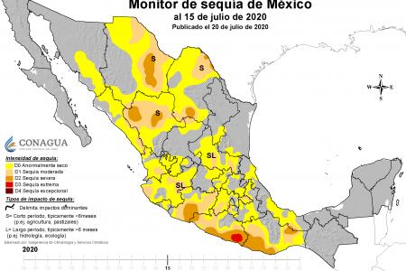 Península de Yucatán, libre de sequía por segundo mes