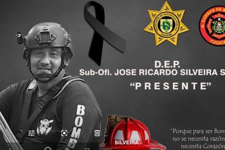 Fallece por Covid-19 un bombero de la SSP Yucatán