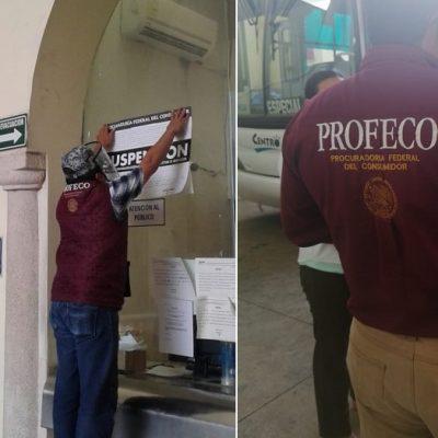Profeco suspende terminal de autobuses que viajan a los municipios yucatecos