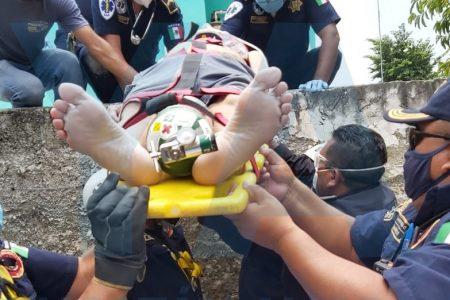 Trágica caída en el centro de Mérida: muere un hombre de 79 años