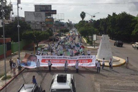 Diputados chiapanecos condenan detención del médico Vicente Grajales Yuca
