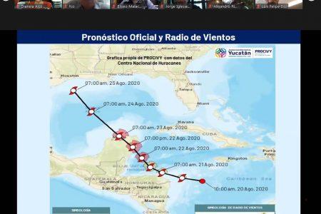 Instalan comité de Protección Civil por acercamiento de depresión tropical 14