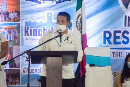 En Kinchil la prioridad ha sido la salud: alcalde Valentín Pech Dzib