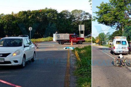 Trágico inicio de semana: muere atropellado un motociclista