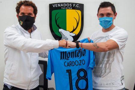 El argentino Neri Cardozo firma con los Venados FC Yucatán