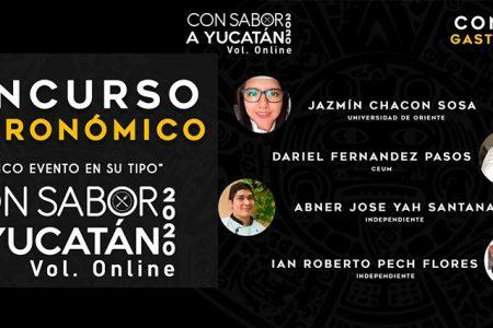 Intensa participación en el concurso de gastronomía 'Con Sabor a Yucatán Edición Online'