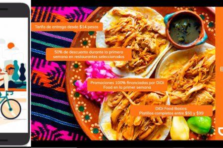 DiDi Food inicia operaciones en Mérida