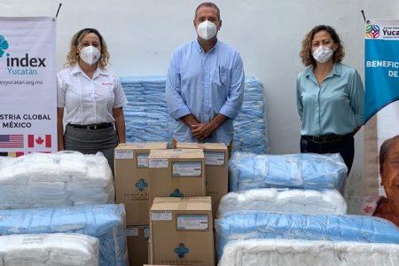 Industria manufacturera dona 110 mil cubrebocas al Gobierno del Estado