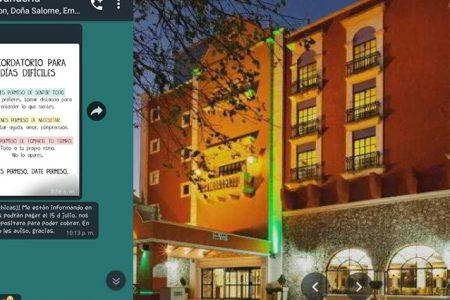 Empleados de hotel en Mérida llevan más de un mes sin recibir su sueldo