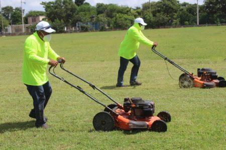 En marcha programa de mantenimiento a centros y unidades deportivas