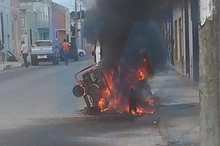 Cortocircuito hace arder en llamas un generador portátil de energía