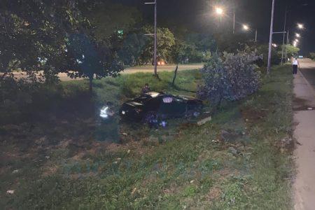 Conductor ebrio causa desastre y tragedia en el Periférico de Mérida