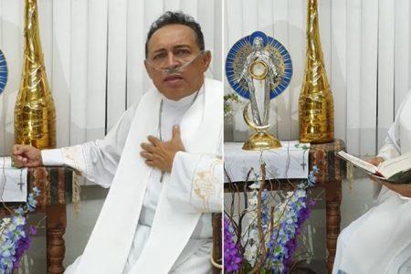 El padre Miguel Medina da positivo a Covid-19