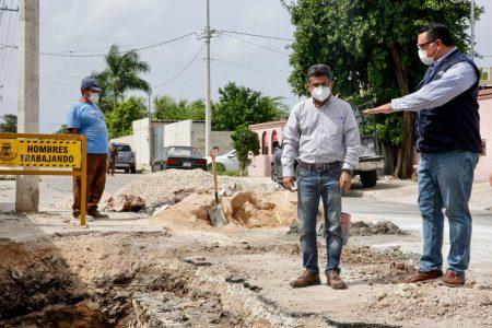 Continúan las obras que mejoran la vida de los meridanos: Renán Barrera
