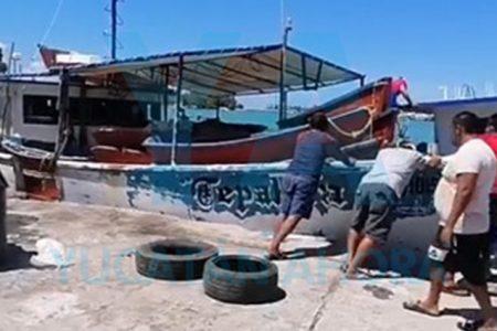 Fallece pescador en altamar tras presentar calentura y problemas para respirar