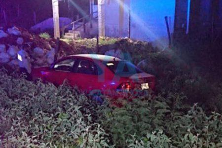 Se accidenta una familia con un vehículo rentado