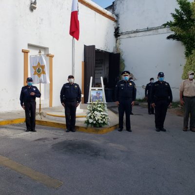 La PMM rinde homenaje al ex director de la corporación Federico Cuesy Adrián