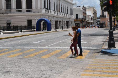 El centro de Mérida, la zona con más peligro de contagios de Covid-19