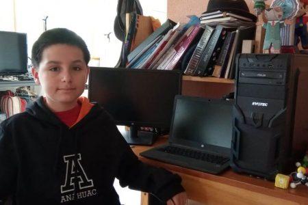 A sus 14 años, estudiará Ingeniería Biomédica en la Anáhuac Mayab